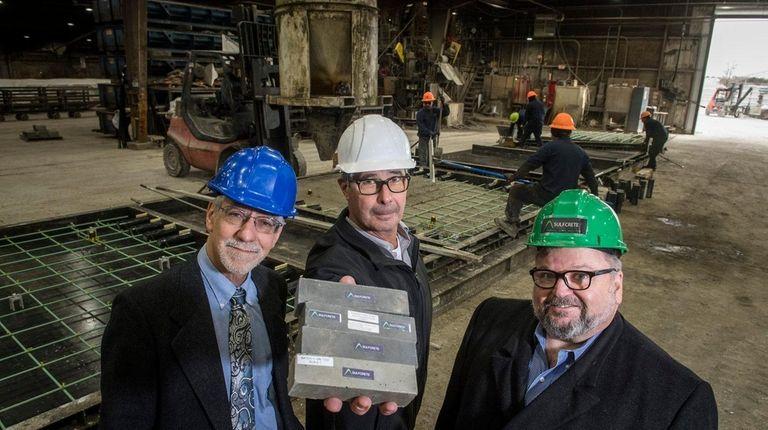 Green Sulfcrete gets $1 2M in grants to develop concrete | Newsday