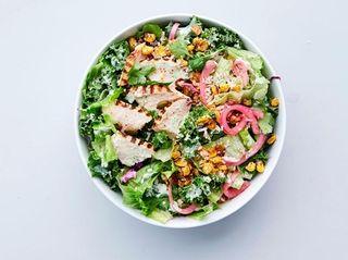 The Mexican Street Corn Caesar Salad at Chopt,