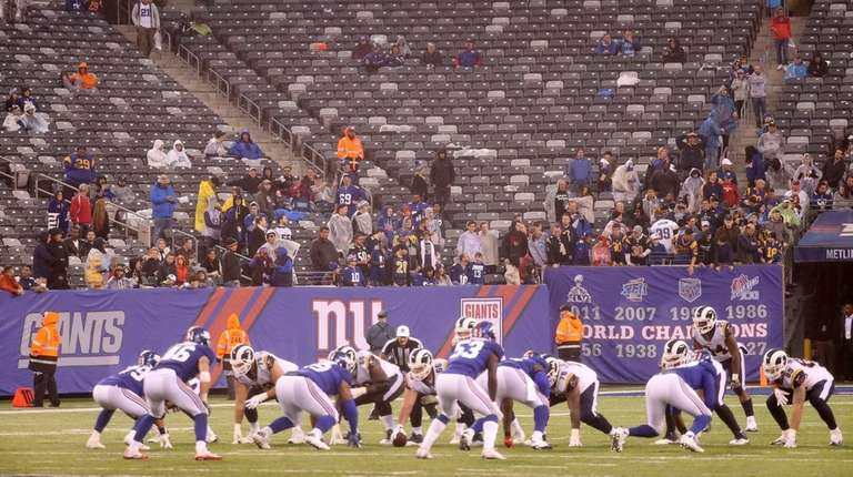 Expect plenty of empty seats at MetLife Stadium
