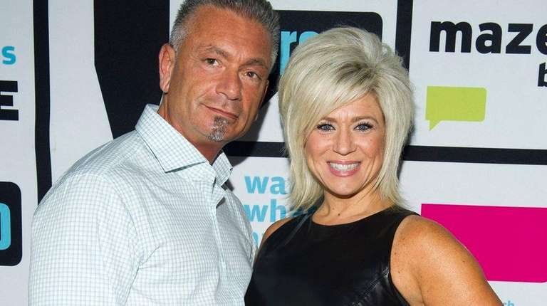 Larry Caputo andTheresa Caputo after an undated appearance