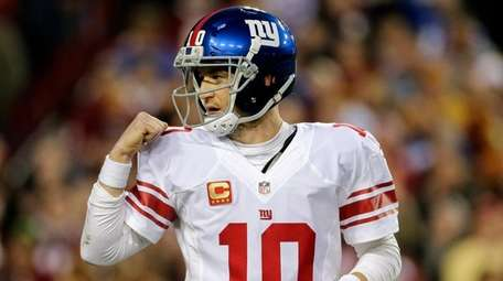 After a week on the sideline, Giants quarterback