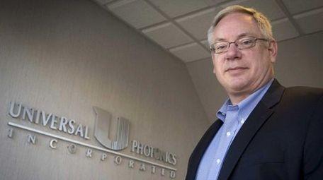 Neil Johnson, president of Universal Photonics Inc.