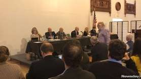 The town board did not reach a supermajority