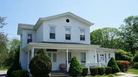 The East Moriches home.