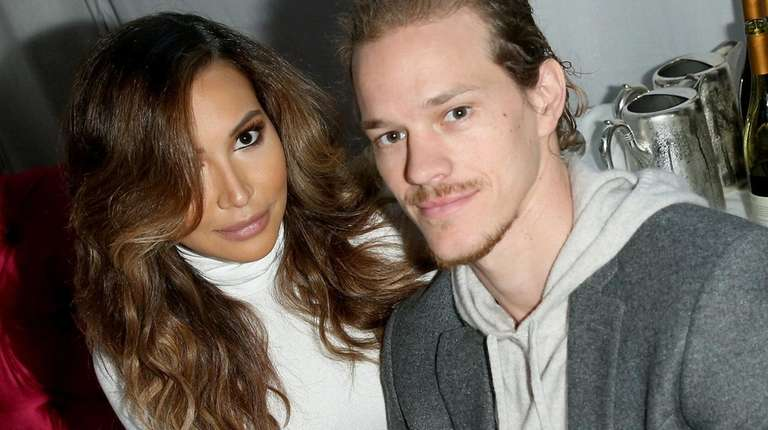 Naya Rivera and Ryan Dorsey in Beverly Hills,