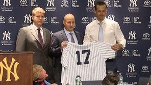 The Yankees welcomed Aarone Boone, a former Yankee
