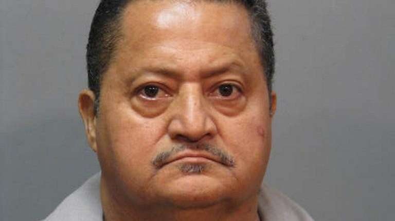 Police said Jose Monterroso, of Hempstead, was charged