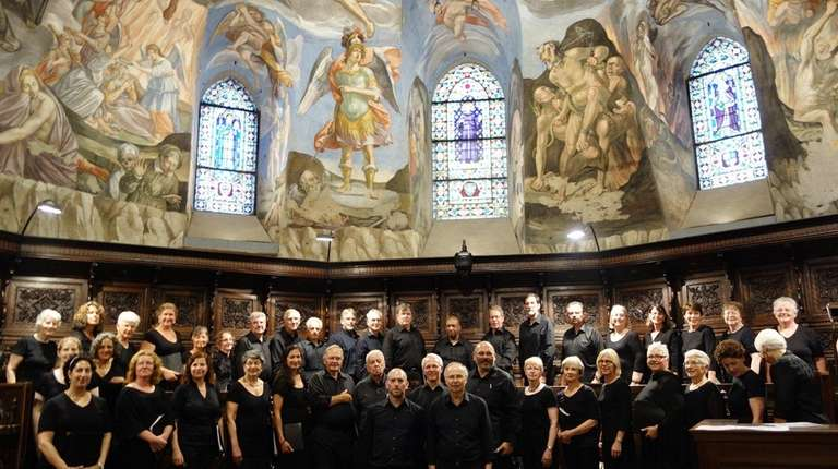 The Long Island Symphonic Choral Association, which performed