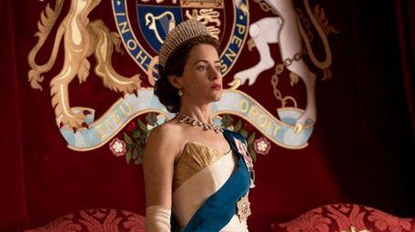 Claire Foy as Queen Elizabeth in