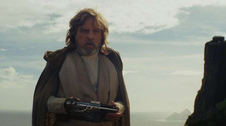 Luke Skywalker (Mark Hamill) in