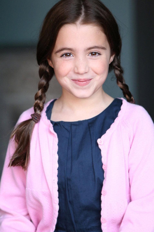 Vivienne Coletta, 10, of Malverne, sang