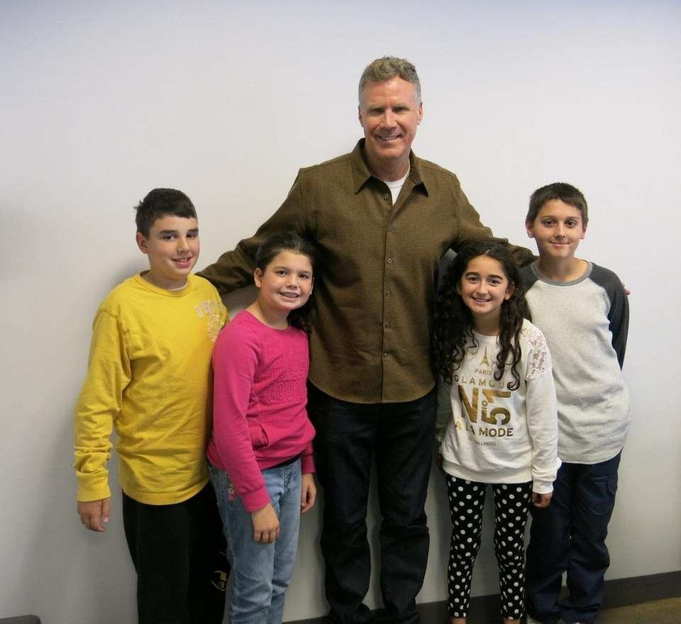 Actor Will Ferrell met with Kidsday reporters John