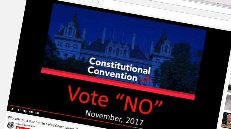 Fundraising by opponents of a state constitutional convention