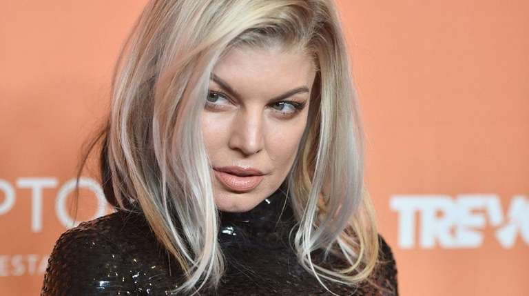 Fergie attends an event for The Trevor Project