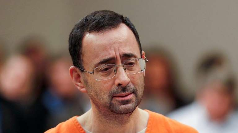 Dr. Larry Nassar was sentenced to 60 years