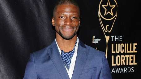 Michael Luwoye, pictured in Manhattan in 2016, will