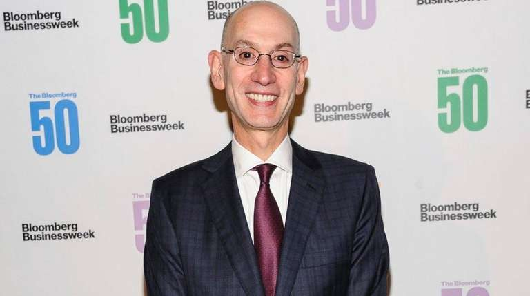 Adam Silver attends The Bloomberg 50, a celebration