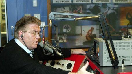 Mike Francesa at the WFAN studios