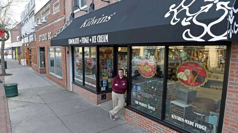 John Murray III, president of the Patchogue Retailers
