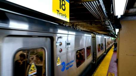 The LIRR's track 18 at Penn Station is
