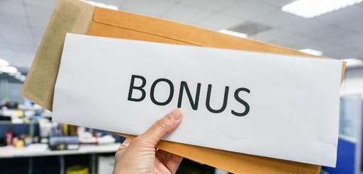 The IRS considers a bonus