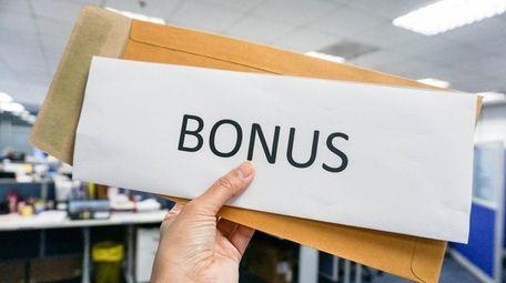 The IRS considers a bonus