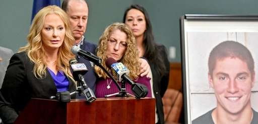 Stacy Parks Miller, left, district attorney for