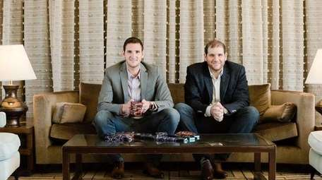 Dan, left, and Mike Friedman, founders of Tall