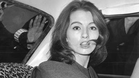 Christine Keeler, the key figure in Britain's Profumo