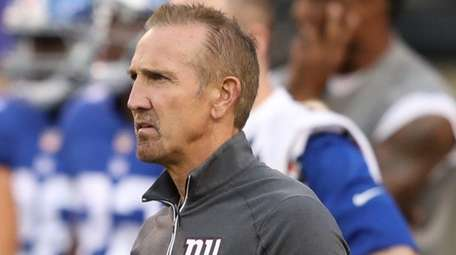 Steve Spagnuolo, shown here during an exhibition game