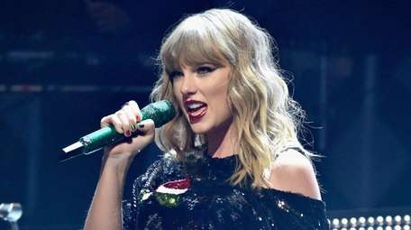 Taylor Swift performs Dec. 8, 2017, at Z-100's