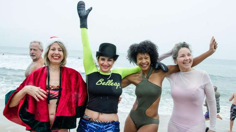 From left, Linda Muse, Monika Wolfson, Lori Elena