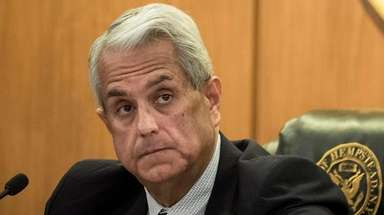 Hempstead Town Supervisor Anthony Santino will hold his