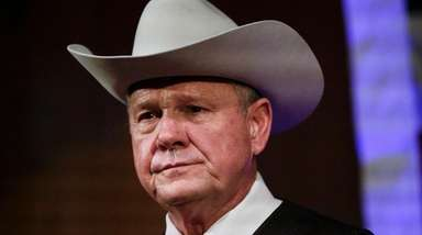 Roy Moore's run for the Alabama Senate seat
