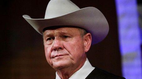 Roy Moore's run for the Alabama Senate seat