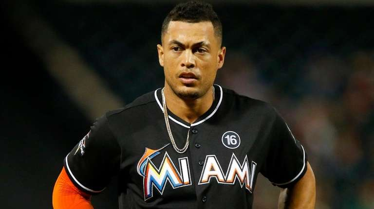 The trade of slugger Giancarlo Stanton from the