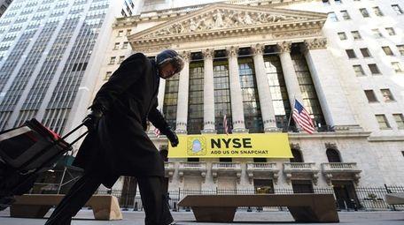 The New York Stock Exchange on Jan. 25,