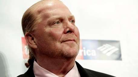 Mario Batali attends the Food Bank for New