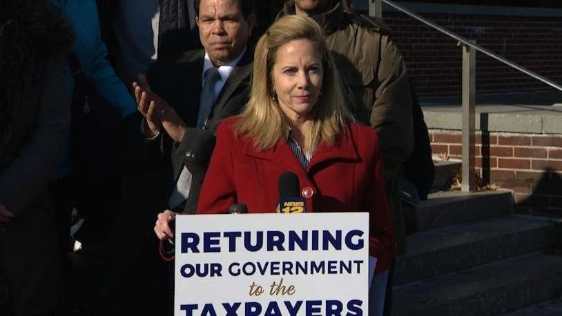 Hempstead Town Supervisor-elect Laura Gillen called for outgoing Supervisor Anthony