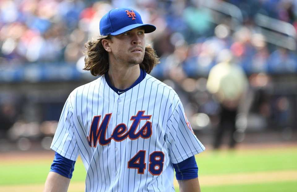 DeGrom was the last healthy man standing from