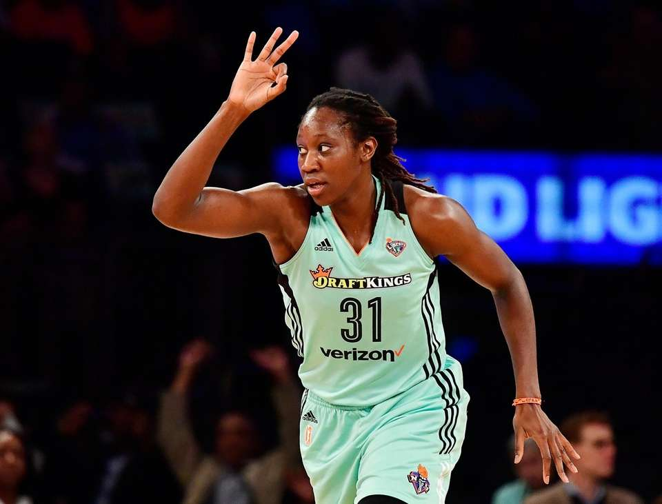 After finishing second in WNBA MVP voting in
