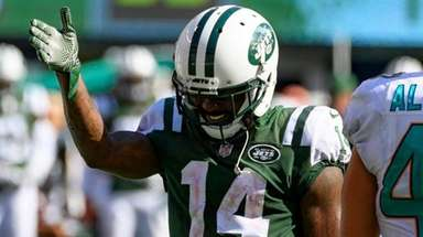 Jets receiver and punt returner Jeremy Kerley is