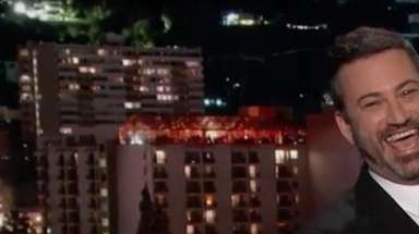 An emotional Jimmy Kimmel returned to his show