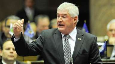 Assembly Minority Leader Brian Kolb, seen here on