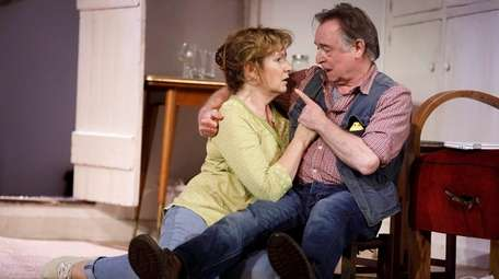 Deborah Findlay and Ron Cook play long-married couple