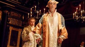 Iestyn Davies sings as Farinelli in a scene