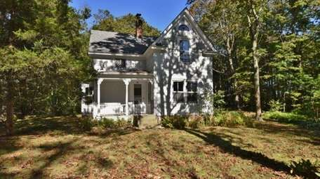 The two-bedroom, 1 ½-bath Northport home has a
