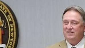 Smithtown Town Supervisor Patrick Vecchio on Tuesday, Dec.