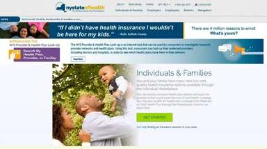 New Yorkers who want health insurance from the