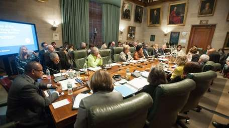 The New York State Board of Regents meets